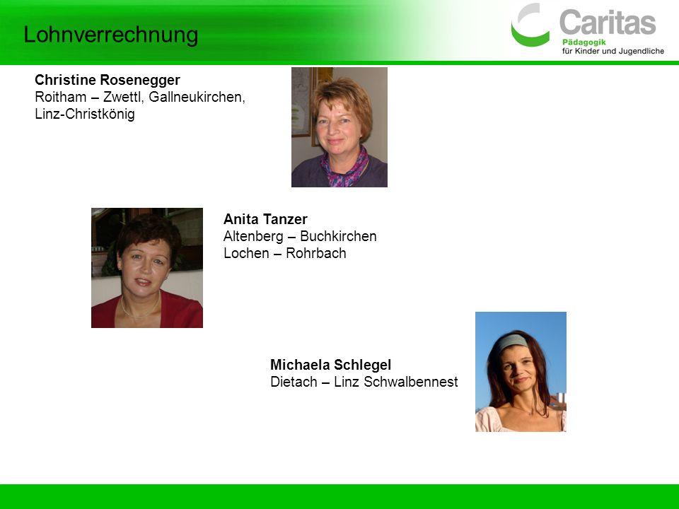 Lohnverrechnung Christine Rosenegger Roitham – Zwettl, Gallneukirchen,