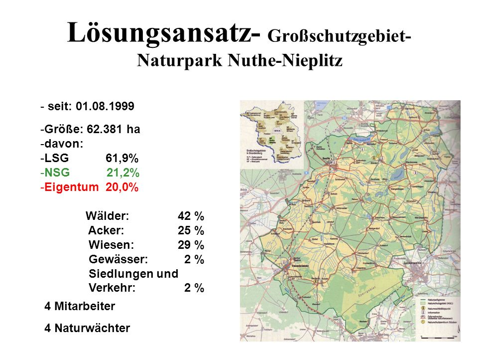 Lösungsansatz- Großschutzgebiet-Naturpark Nuthe-Nieplitz