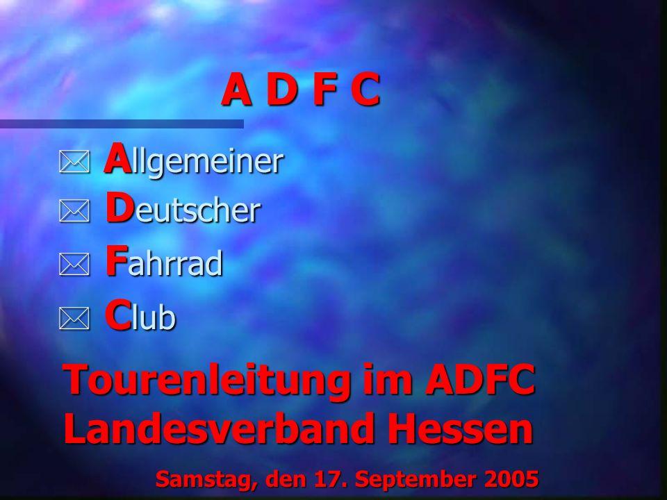 A D F C Allgemeiner Deutscher Fahrrad Club