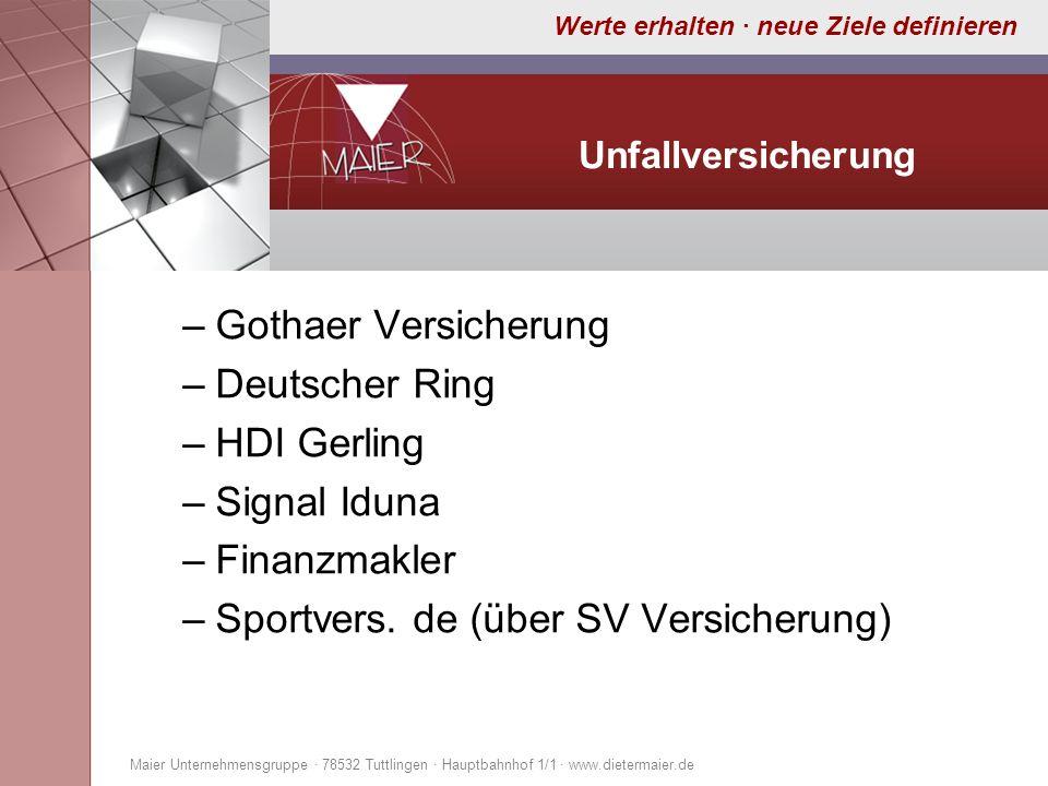 Sportvers. de (über SV Versicherung)