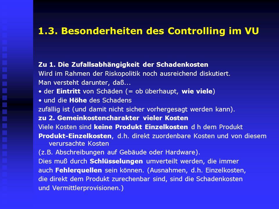 1.3. Besonderheiten des Controlling im VU