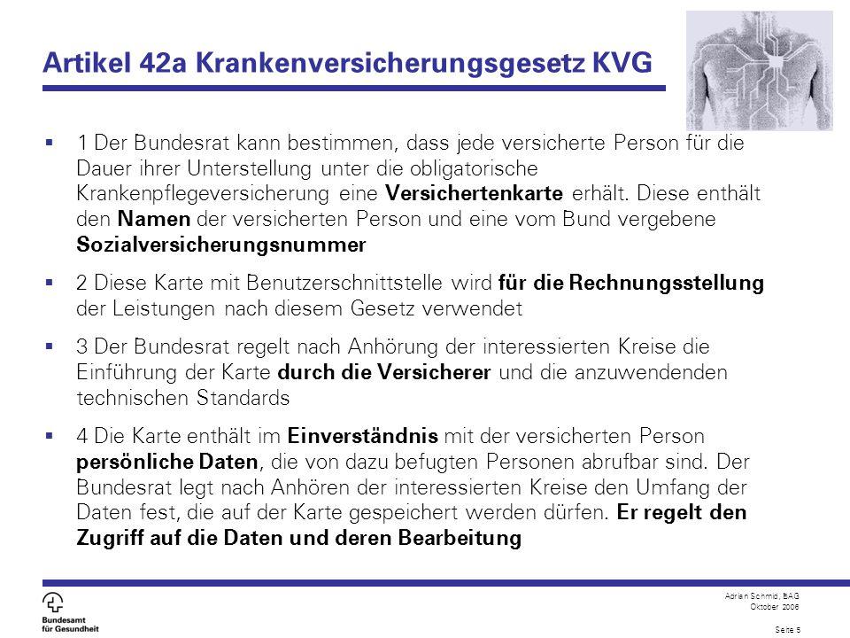 Artikel 42a Krankenversicherungsgesetz KVG