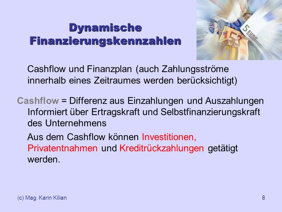 Dynamische Finanzierungskennzahlen