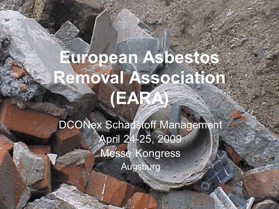 European Asbestos Removal Association (EARA)