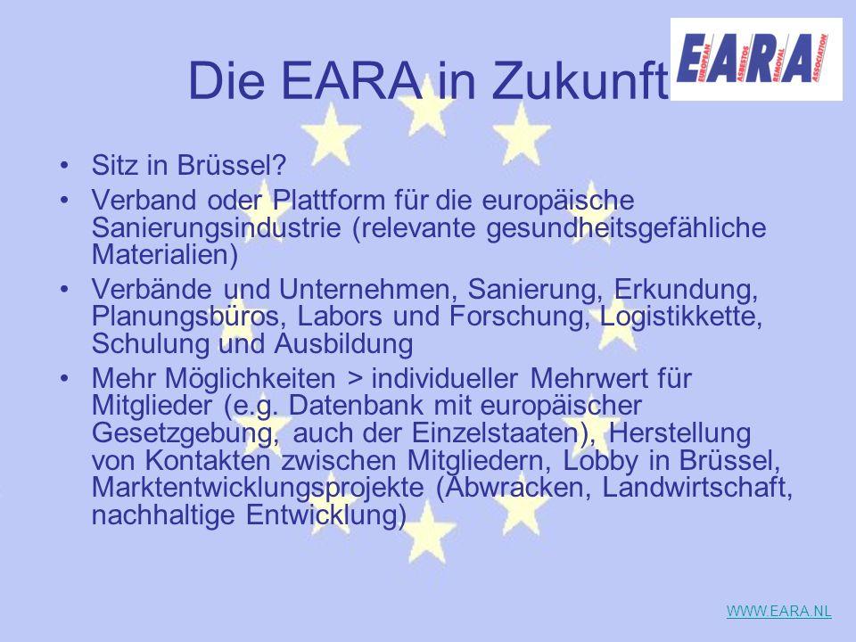 Die EARA in Zukunft Sitz in Brüssel