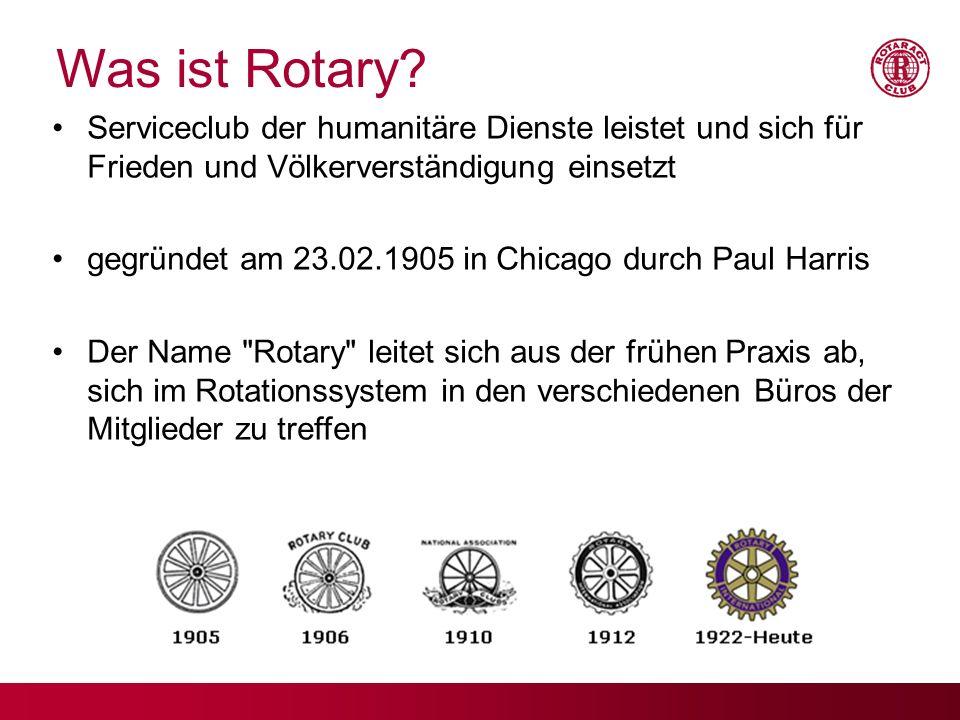 17.09.09 Was ist Rotary Serviceclub der humanitäre Dienste leistet und sich für Frieden und Völkerverständigung einsetzt.