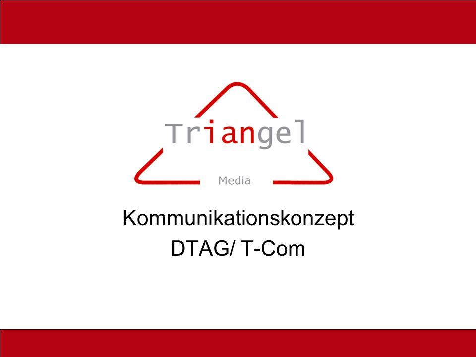 Kommunikationskonzept DTAG/ T-Com