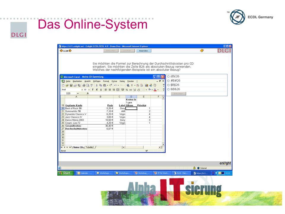 Das Online-System