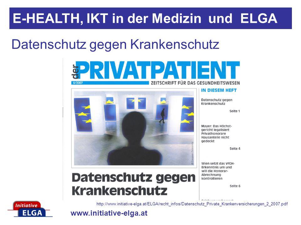 Datenschutz gegen Krankenschutz