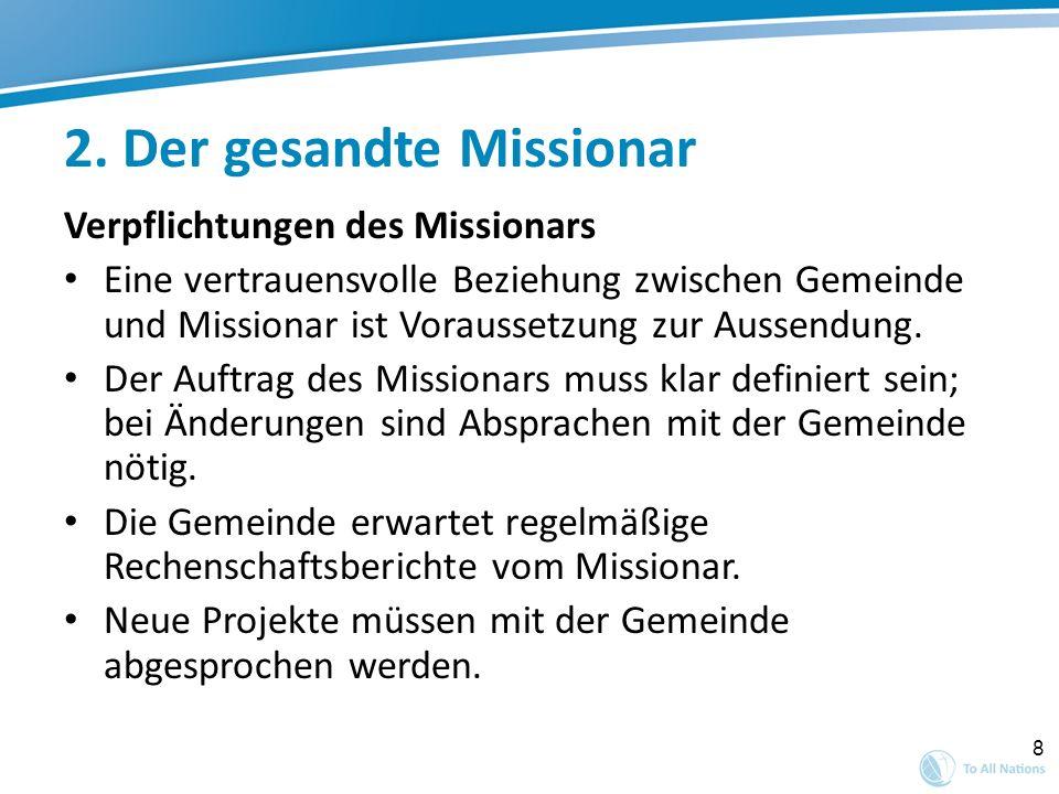 2. Der gesandte Missionar