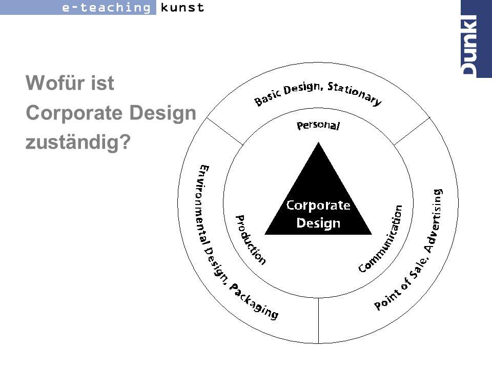 Wofür ist Corporate Design zuständig
