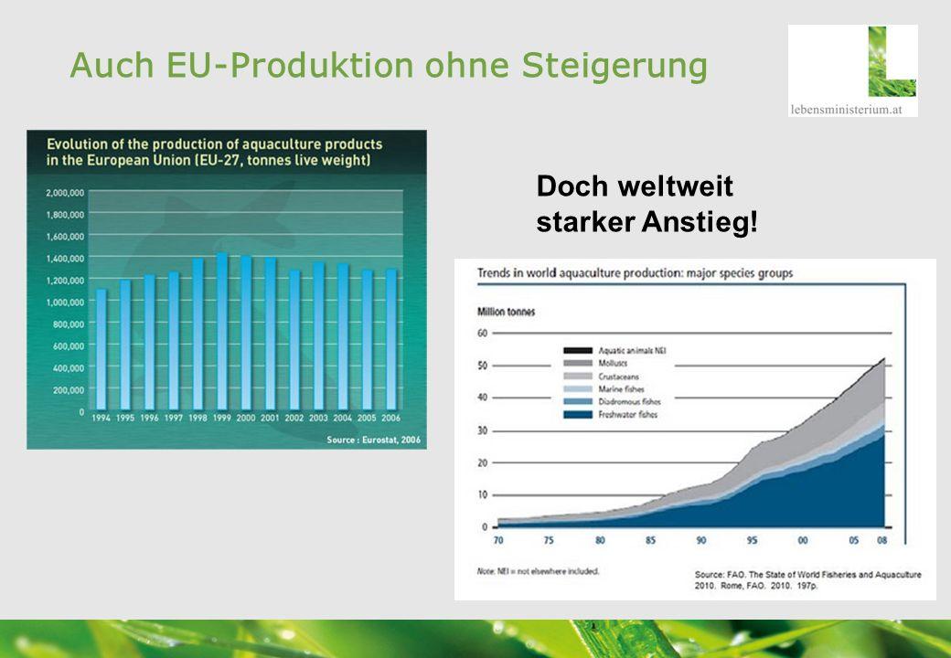 Auch EU-Produktion ohne Steigerung