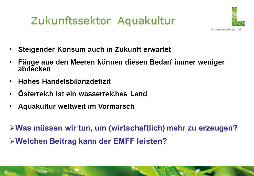 Zukunftssektor Aquakultur