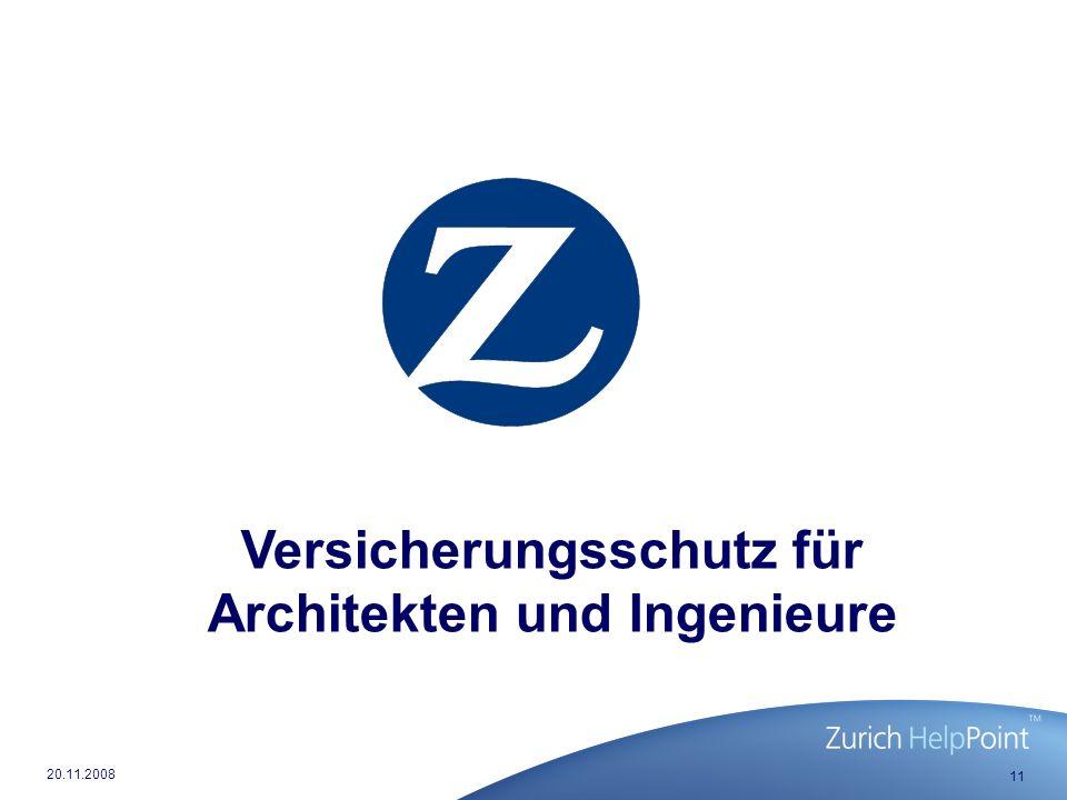 Versicherungsschutz für Architekten und Ingenieure