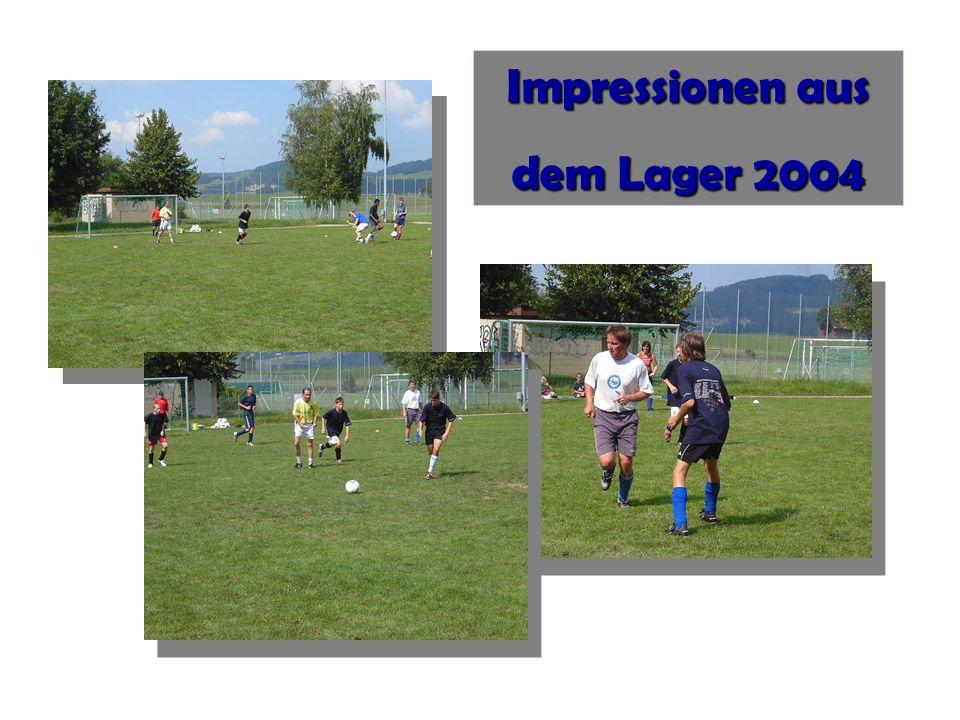 Impressionen aus dem Lager 2004