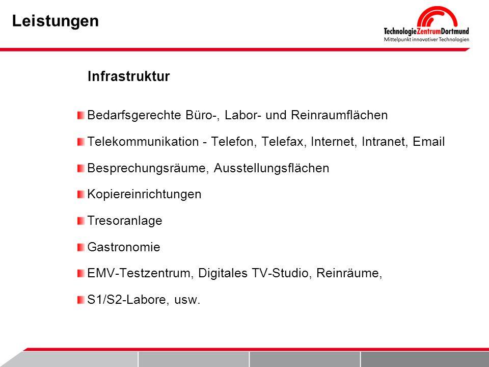 Leistungen Infrastruktur