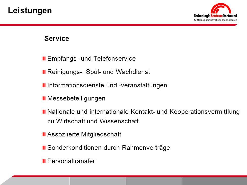 Leistungen Service Empfangs- und Telefonservice