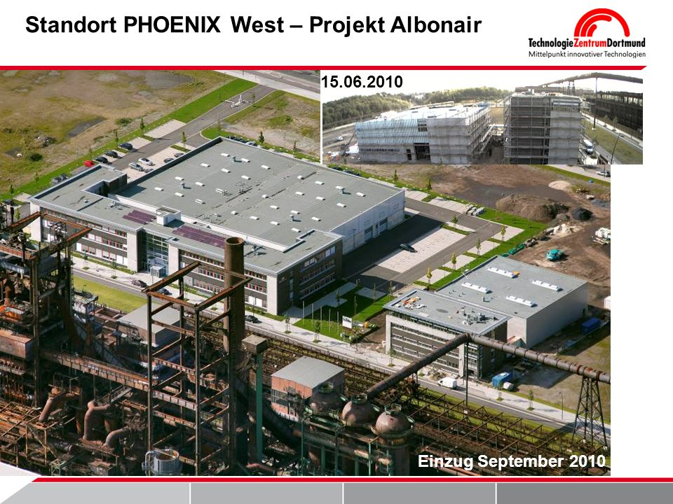 Standort PHOENIX West – Projekt Albonair