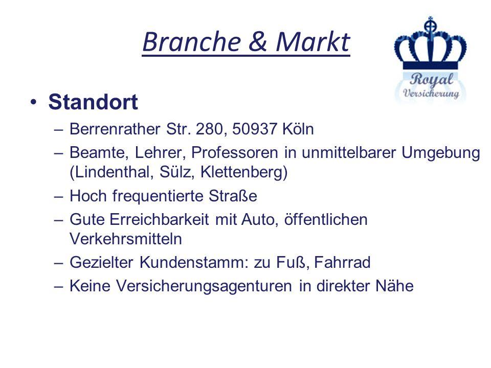 Branche & Markt Standort Berrenrather Str. 280, 50937 Köln
