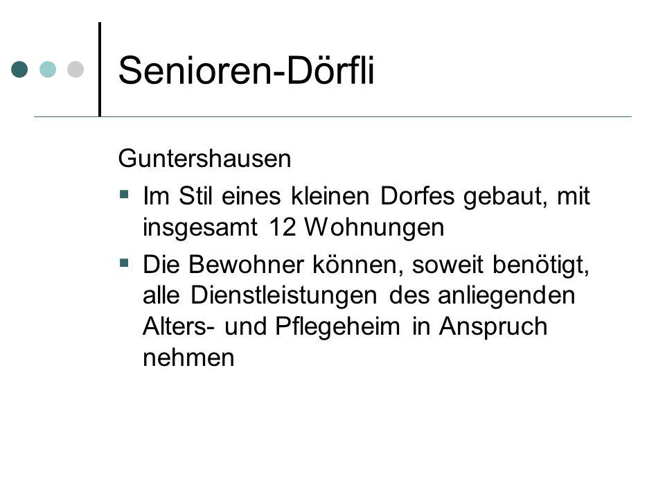 Senioren-Dörfli Guntershausen