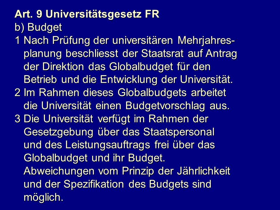 Art. 9 Universitätsgesetz FR