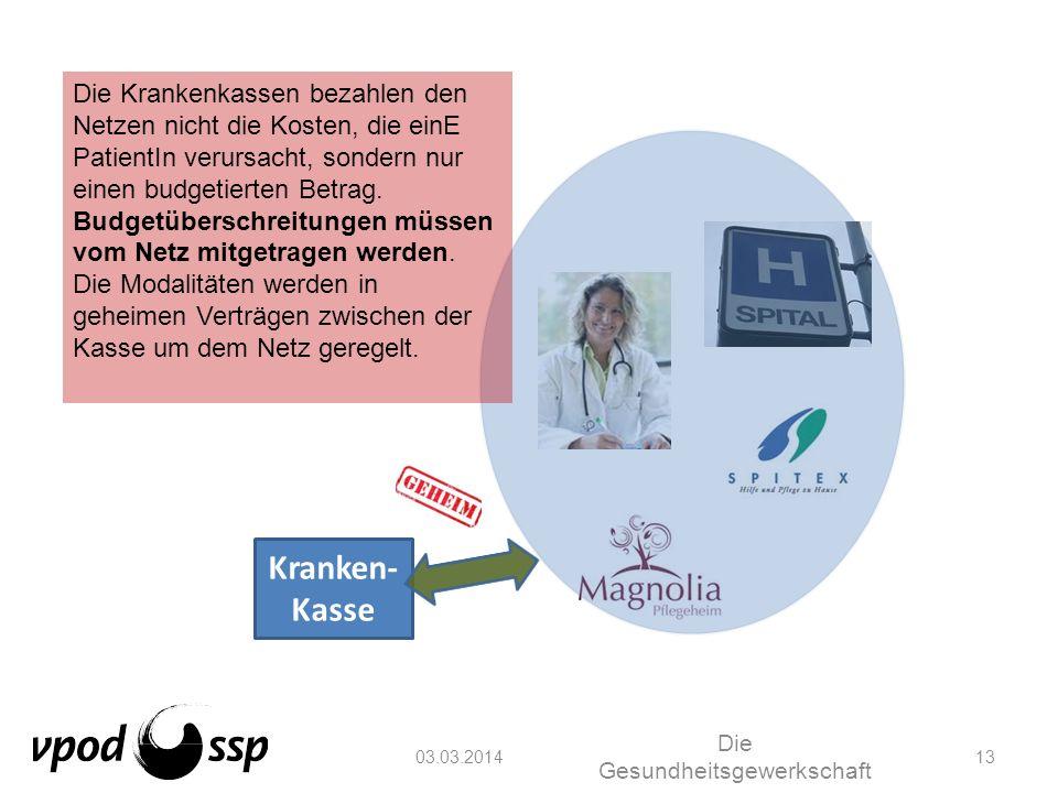 Die Gesundheitsgewerkschaft