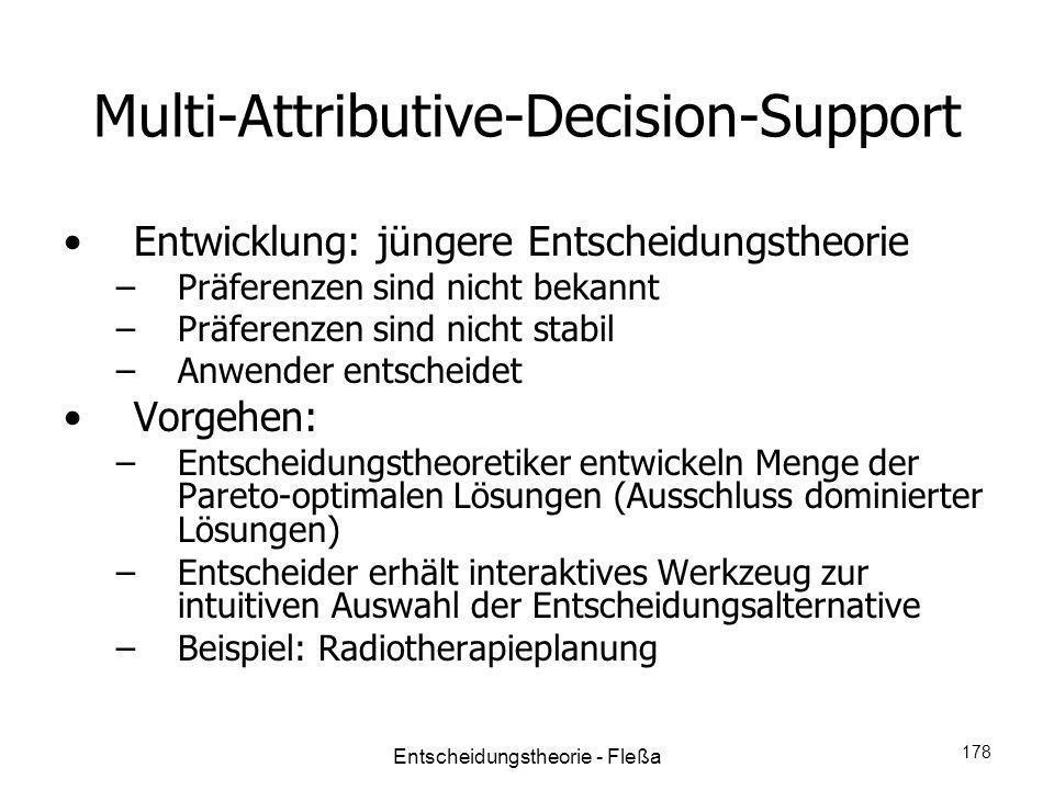 Multi-Attributive-Decision-Support