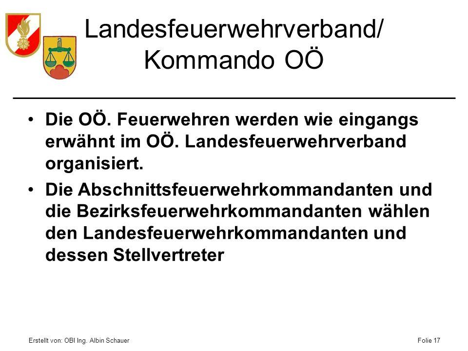 Landesfeuerwehrverband/ Kommando OÖ