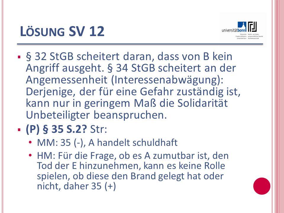 Lösung SV 12