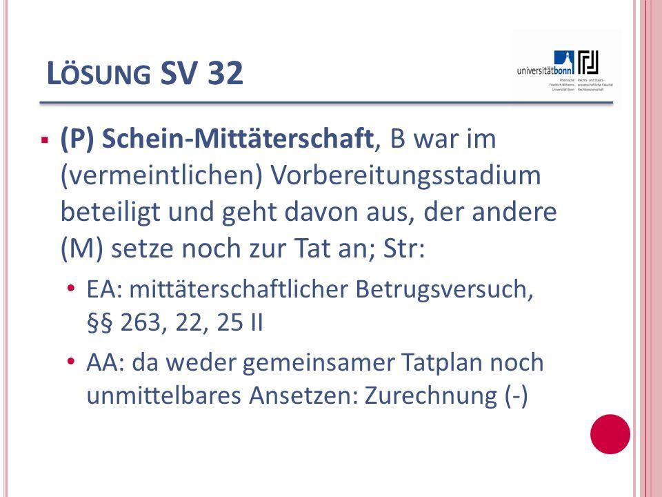 Lösung SV 32
