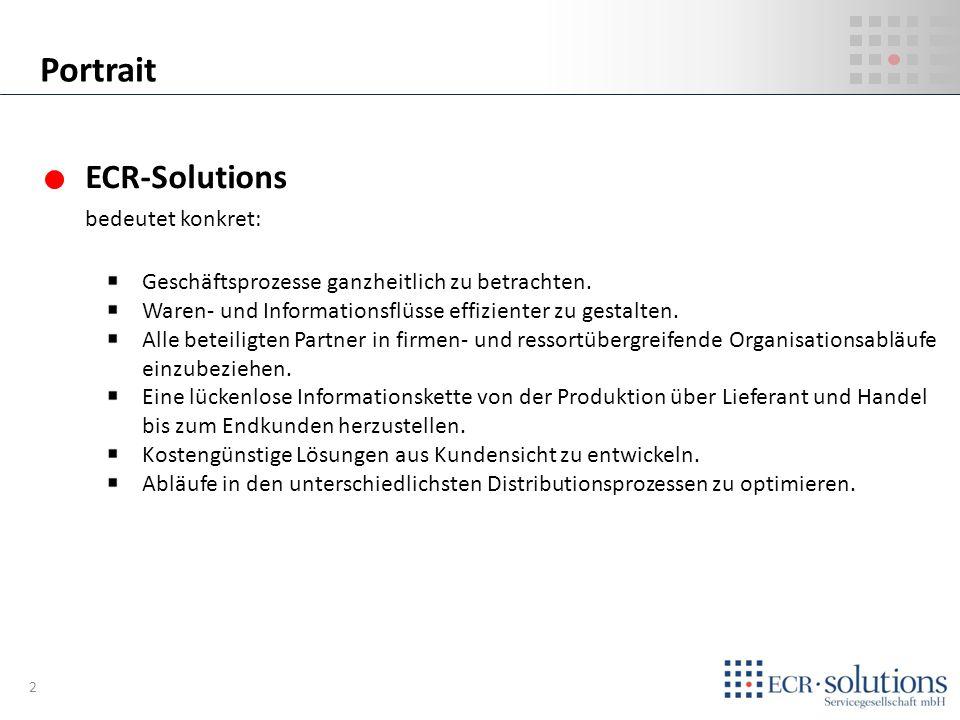 Portrait ECR-Solutions bedeutet konkret: