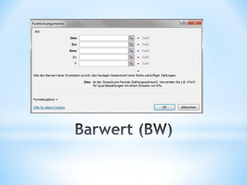 Barwert (BW)