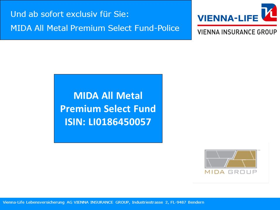 MIDA All Metal Premium Select Fund