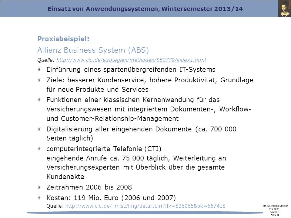 Allianz Business System (ABS)