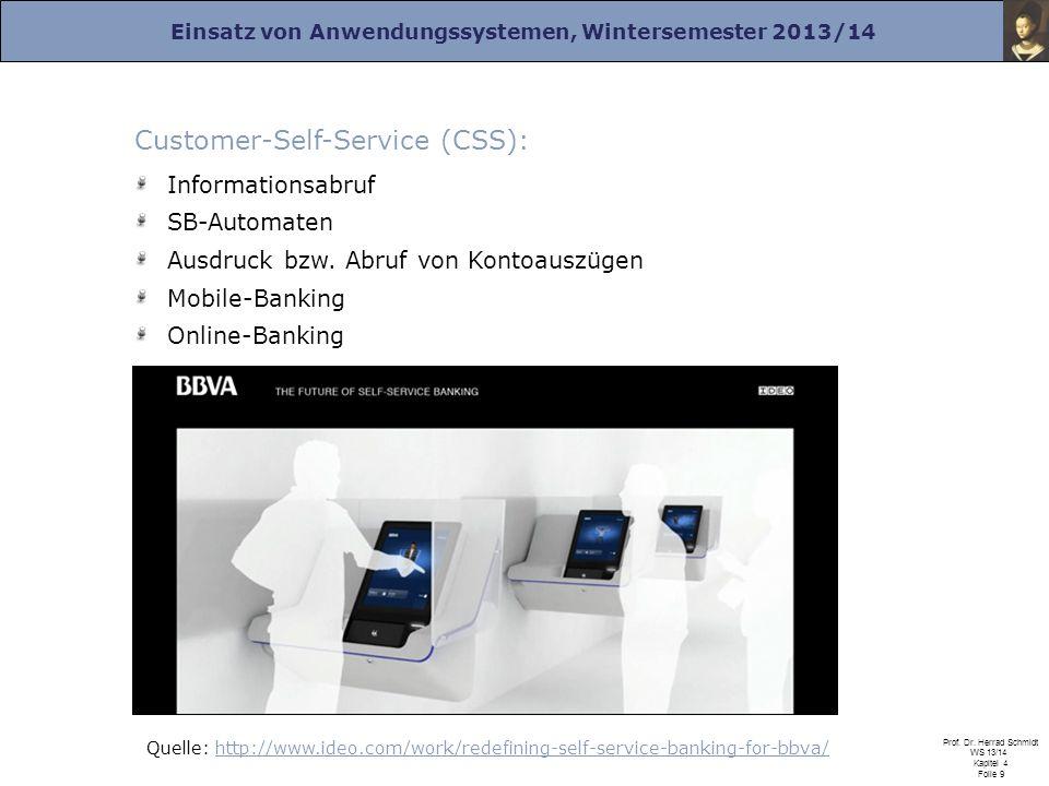 Customer-Self-Service (CSS):