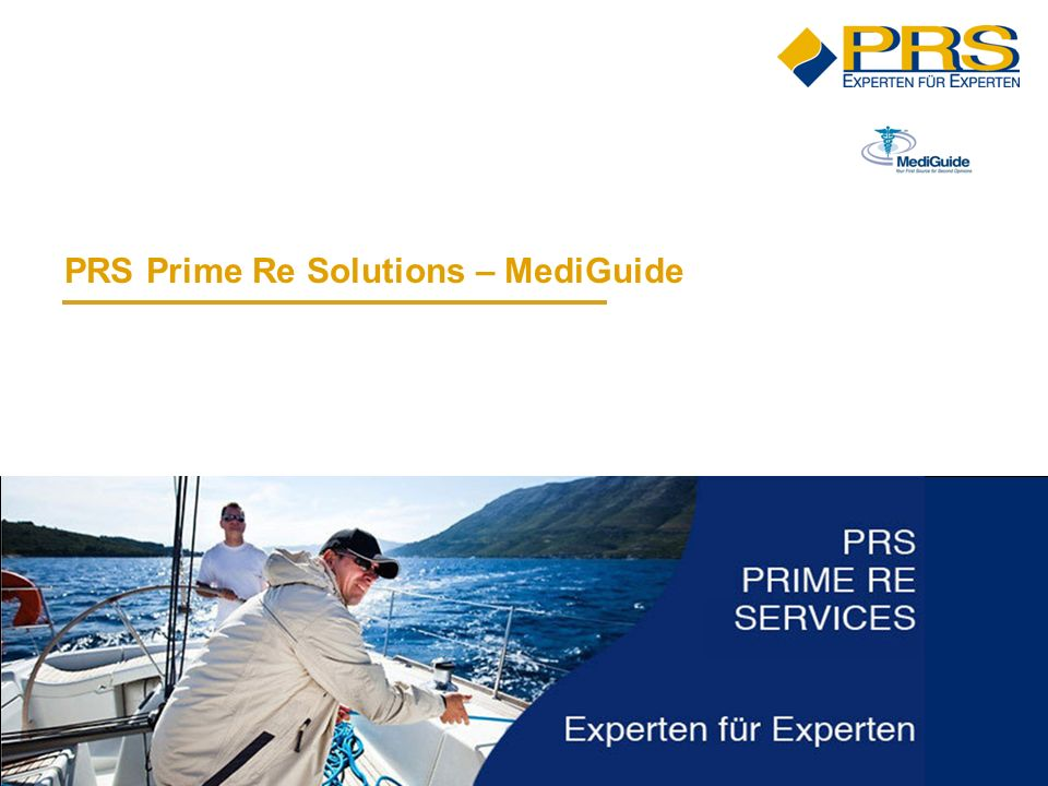 PRS Prime Re Solutions – MediGuide