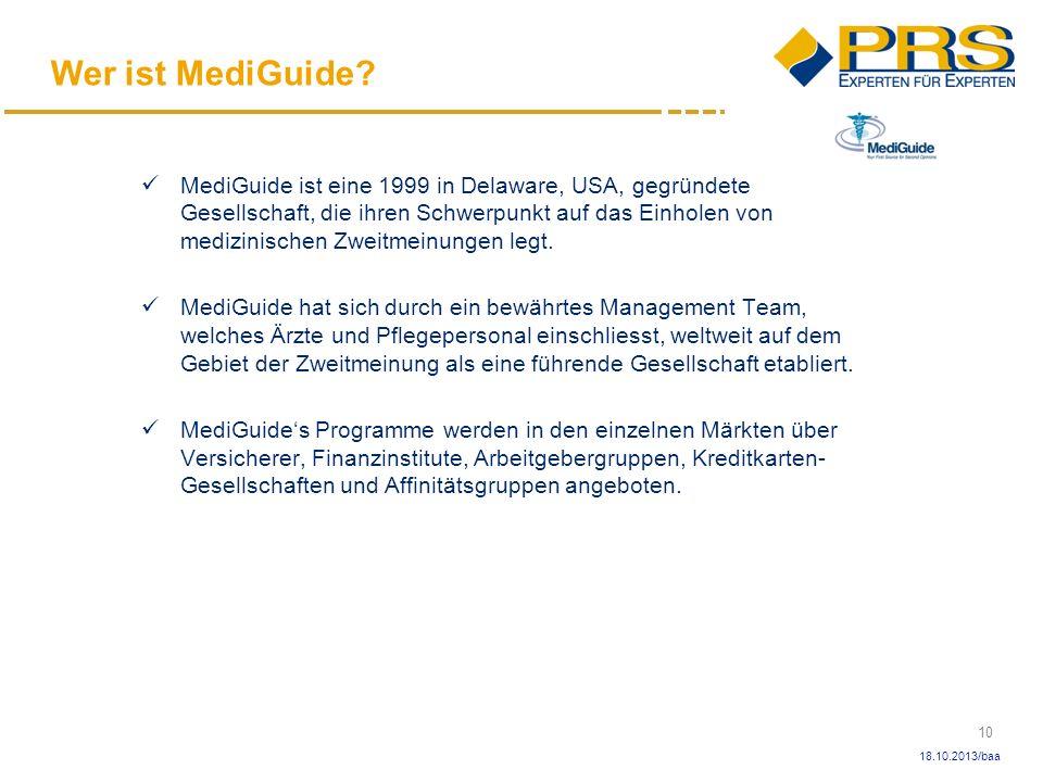 Wer ist MediGuide