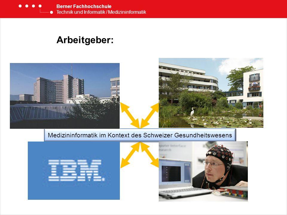 Medizininformatik im Kontext des Schweizer Gesundheitswesens