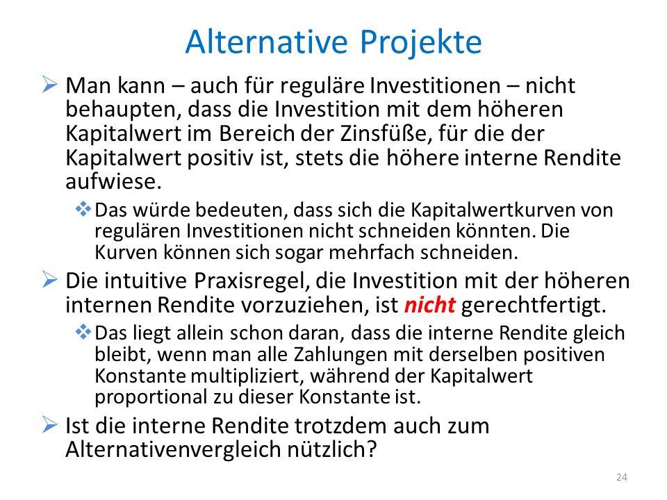 Alternative Projekte