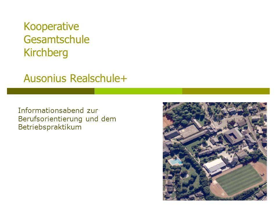Kooperative Gesamtschule Kirchberg Ausonius Realschule+