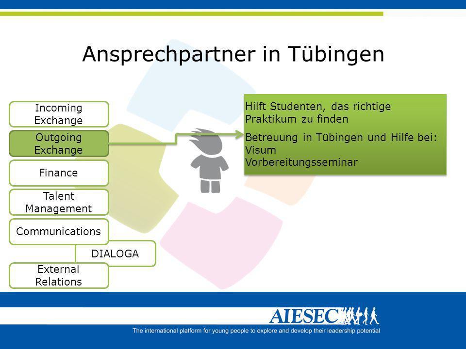 Ansprechpartner in Tübingen
