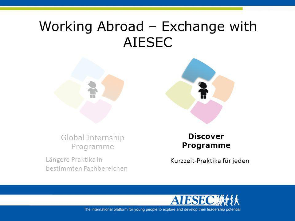 Working Abroad – Exchange with AIESEC