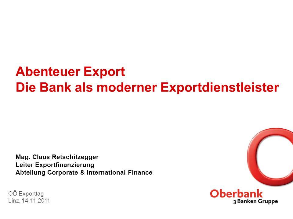 Abenteuer Export Die Bank als moderner Exportdienstleister Mag