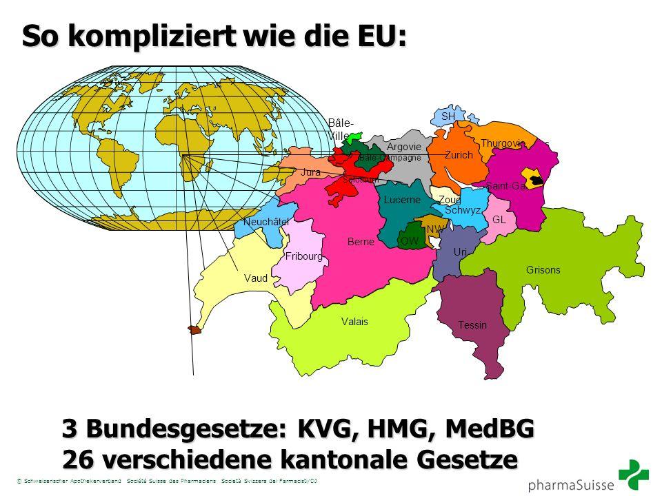 So kompliziert wie die EU: