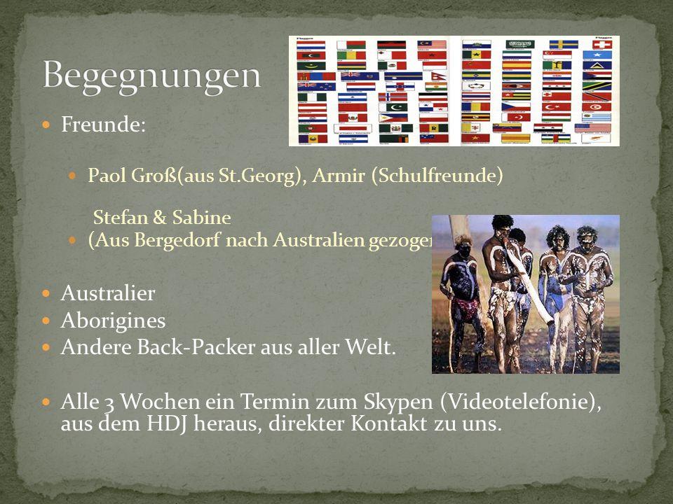 Begegnungen Freunde: Australier Aborigines