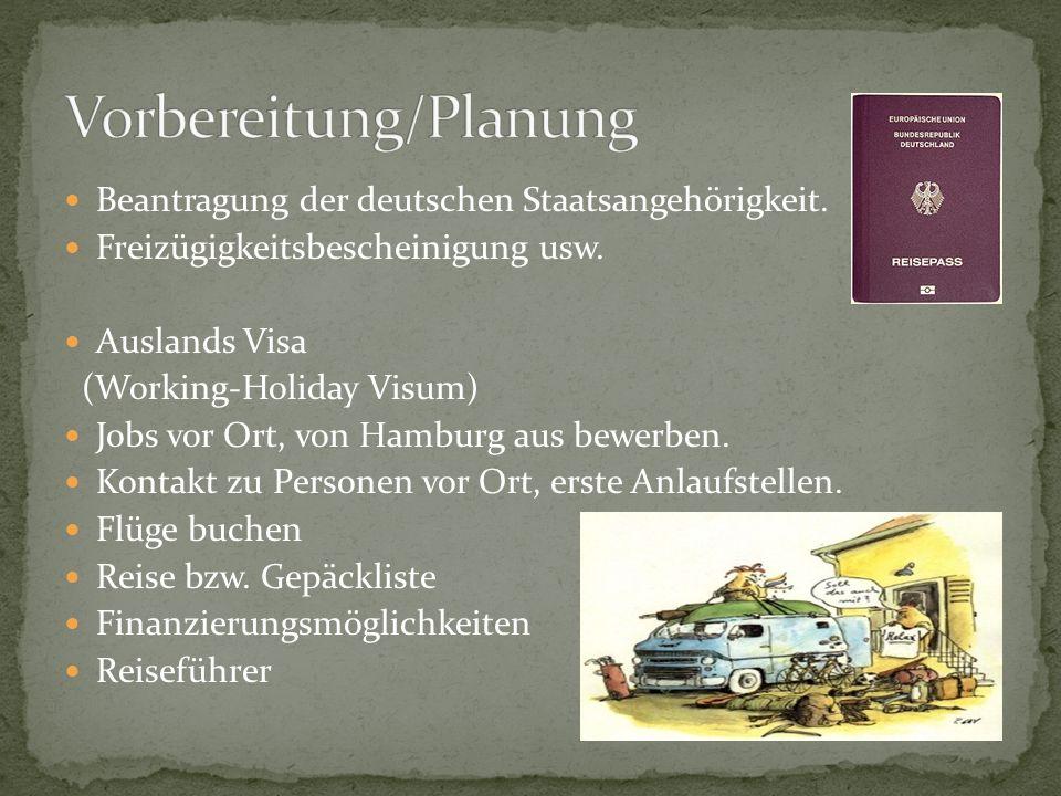 Vorbereitung/Planung