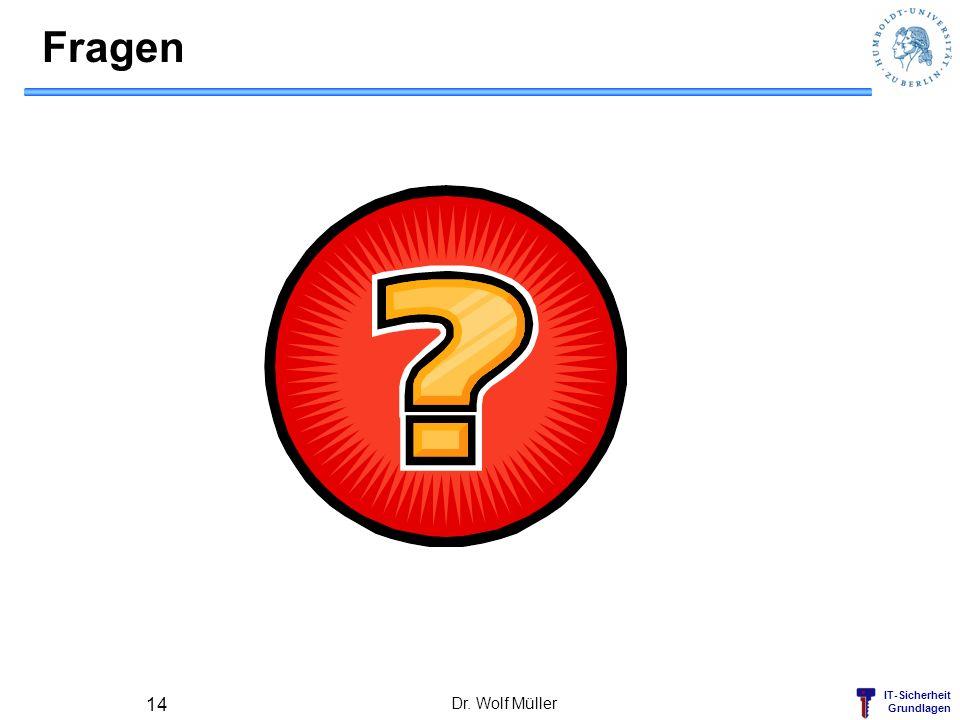 Fragen Dr. Wolf Müller