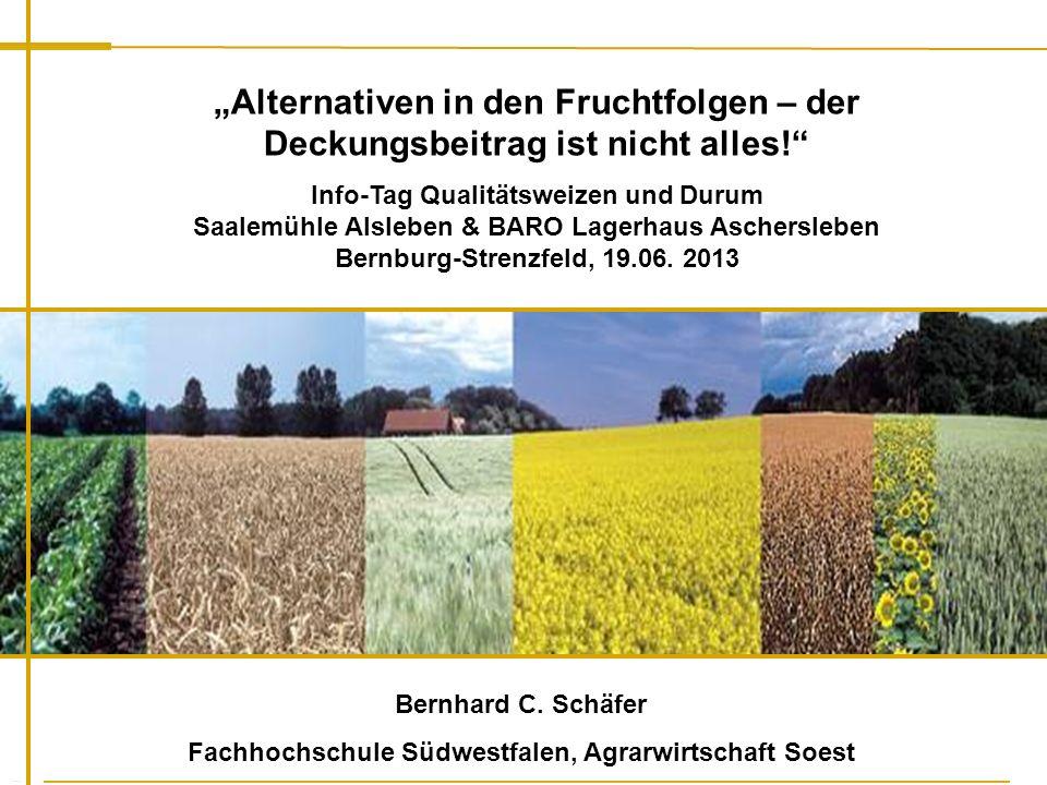 Fachhochschule Südwestfalen, Agrarwirtschaft Soest