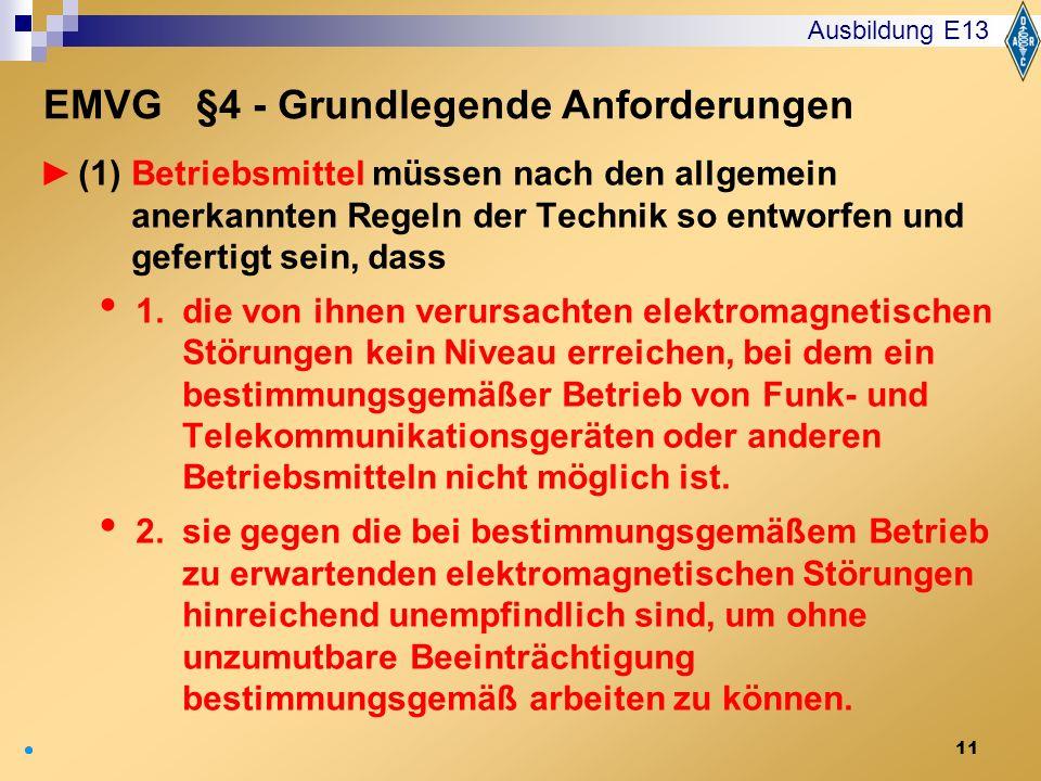 EMVG §4 - Grundlegende Anforderungen