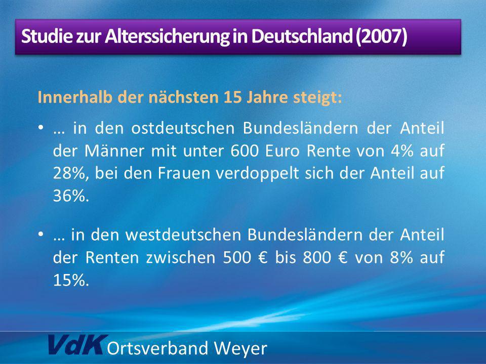 Studie zur Alterssicherung in Deutschland (2007)